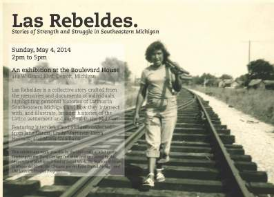 las rebeldes invitation